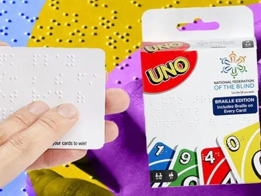 Mattel and Target Release Braille Uno