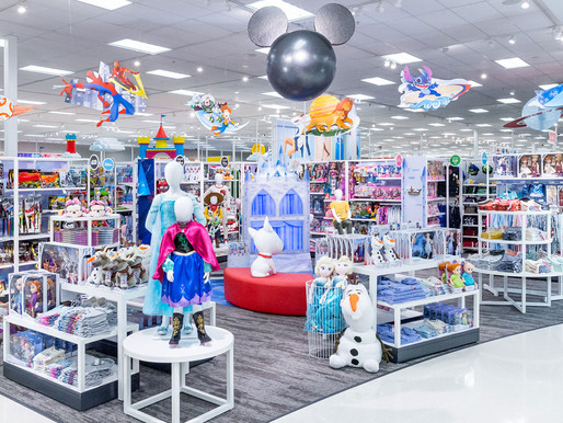 Target Disney Store Launches