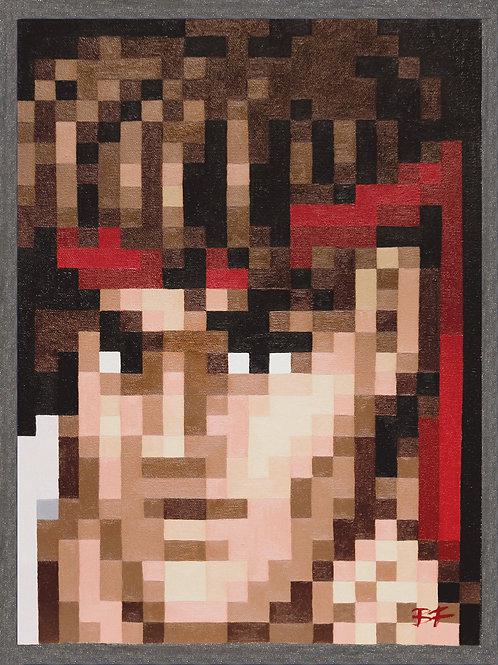 Ryu Pixel Perfect Portrait