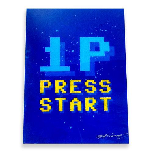 1P Press Start
