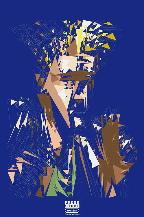 Guile Abstract Portrait