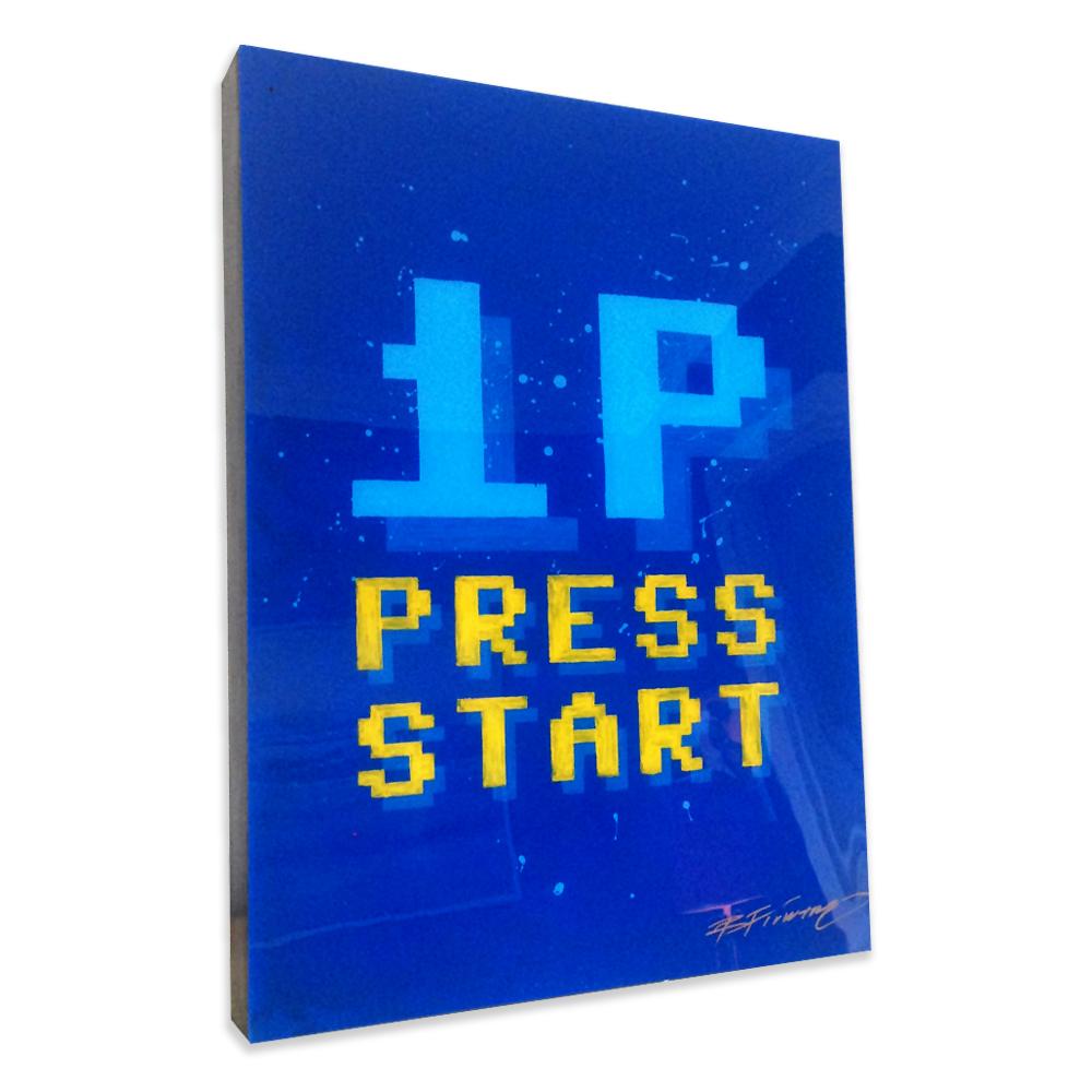 """1P Press Start"""
