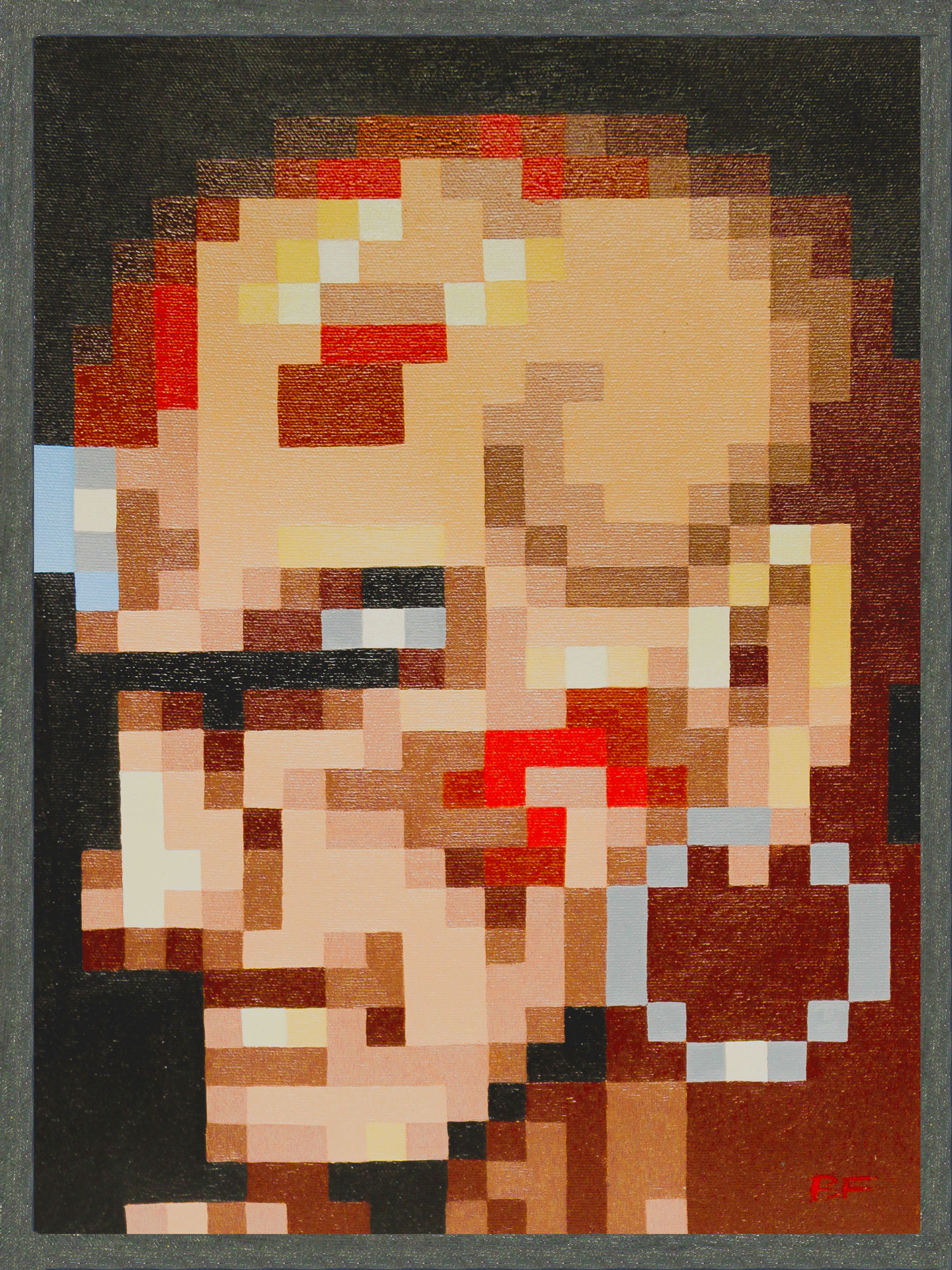 Dhalsim Pixel Perfect Portrait