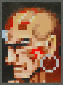Dhalsim Pixel Perfect Portrait