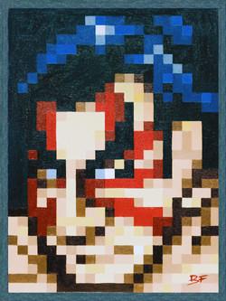 E.Honda Pixel Perfect Portrait