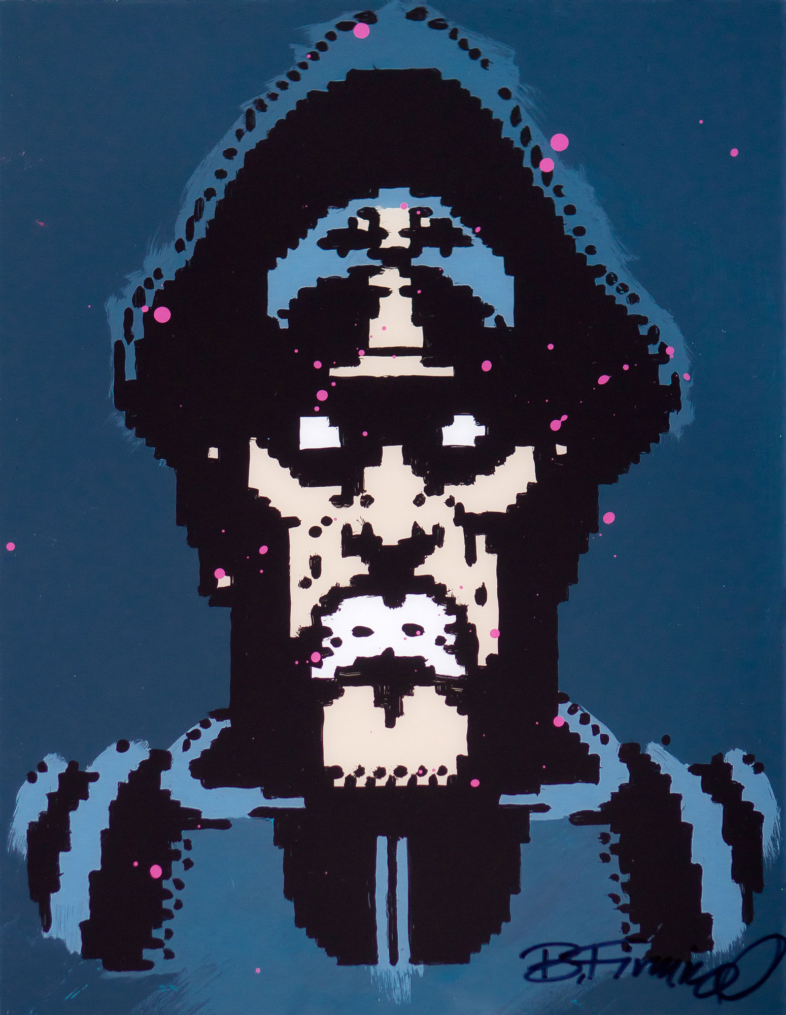 M.Bison Haze Portrait