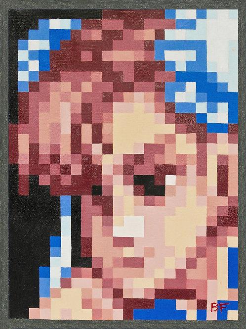 Chun-Li Pixel Perfect Portrait
