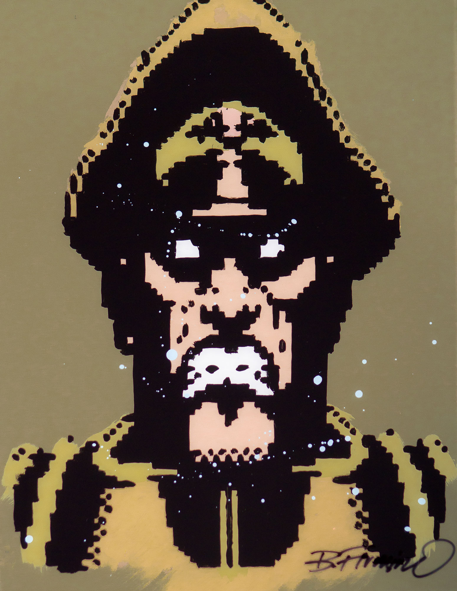 M.Bison Gold Portrait