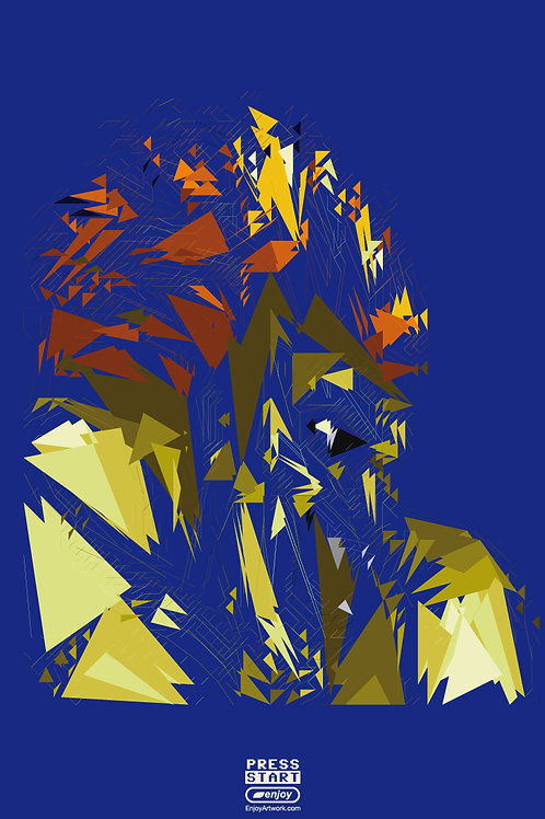 Blanka Abstract Portrait
