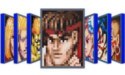 """Street Fighter Pixel Portraits"""