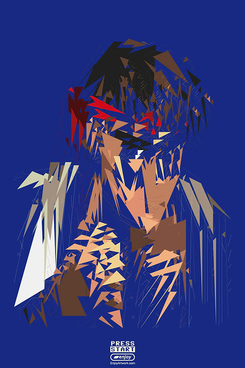 Ryu Abstract Portrait