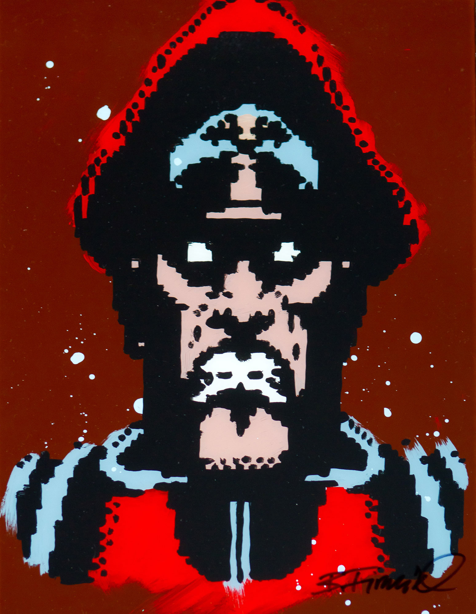 M.Bison Original Portrait