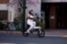 ハイブリッドバイク試乗