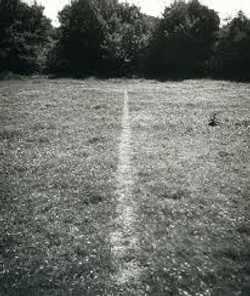 Richard Long - Line Made By Walking