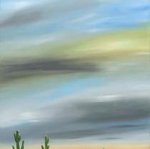 Sky Above Saguaros