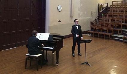 Singing Recital at Victoria Gallery Liverpool
