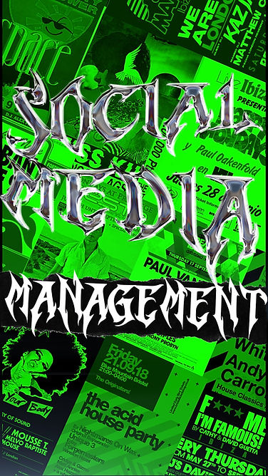 music social media management