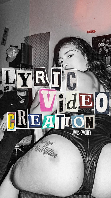 lyric video creation
