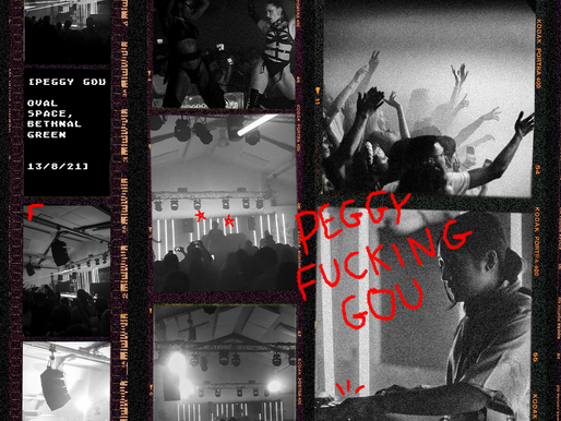 Peggy F*cking Gou - Two raves, One weekend. Here's how it went down