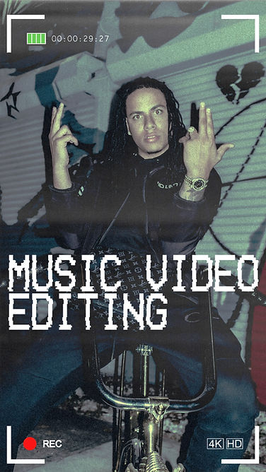music video editing