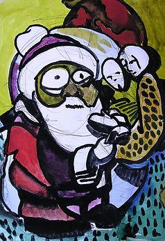 Watching Santa Watch