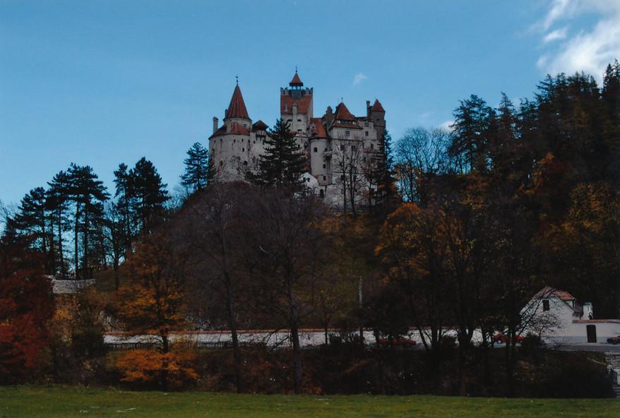 Draculas slott, Transylvanien Rumänien