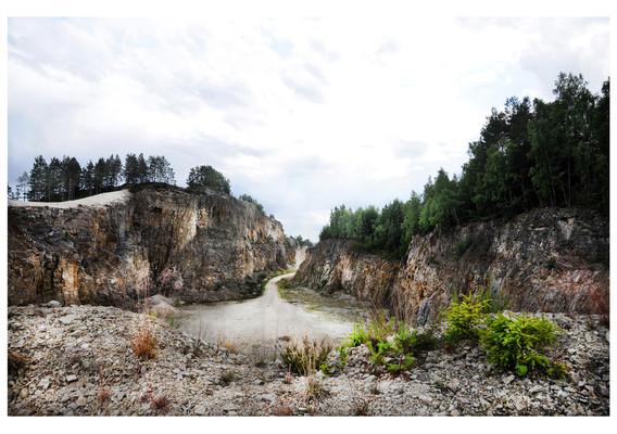 Dalslands Grand Canyon 70 x 100 cm Utlånad till Upperud 9:9