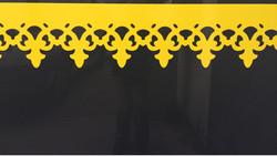 Borne textile