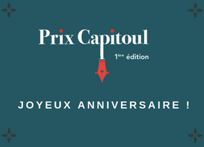 Joyeux anniversaire Prix Capitoul !