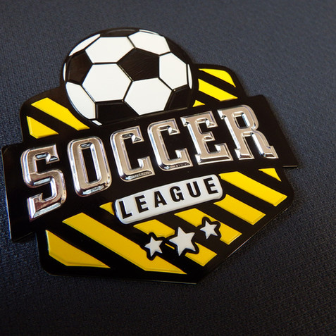 FabricForm Premium Emblems are perfect for your sports jerseys or team uniforms.