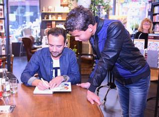 Gerard Ekdom bij Boekhandel Van Der Meer in Noordwijk!