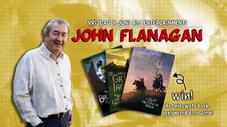 Interview met schrijver John Flanagan!