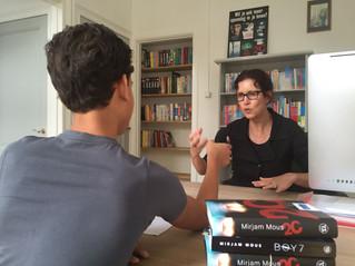 Schrijfster Mirjam Mous te gast bij EnterCainment!