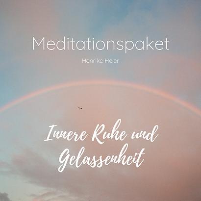 Cover Meditationspaket Innere Ruhe und G