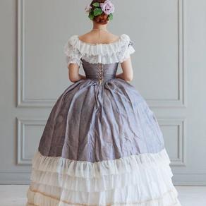 Vestidos do final do Século XIX