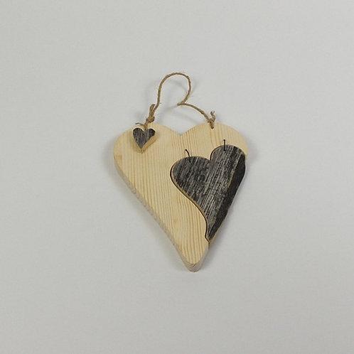 Herz, Fichte und Altholz