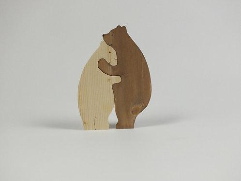 verliebte Bären, Fichte