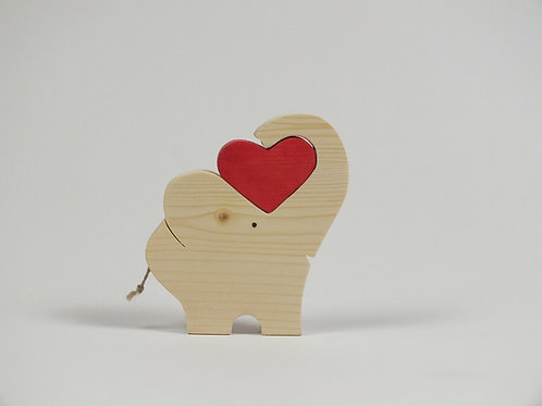 Elefant mit Herz, Fichte