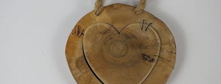 Baumscheiben-Herz
