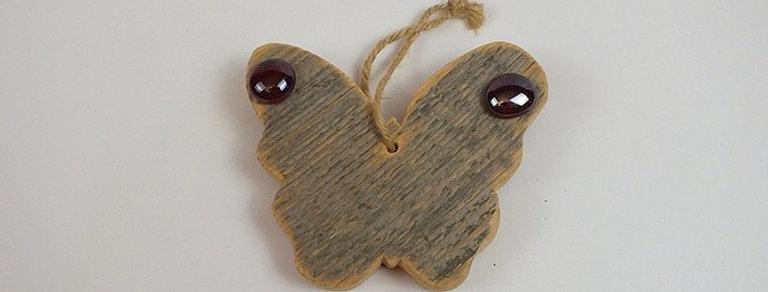 Schmetterling, Altholz und Glasnuggets