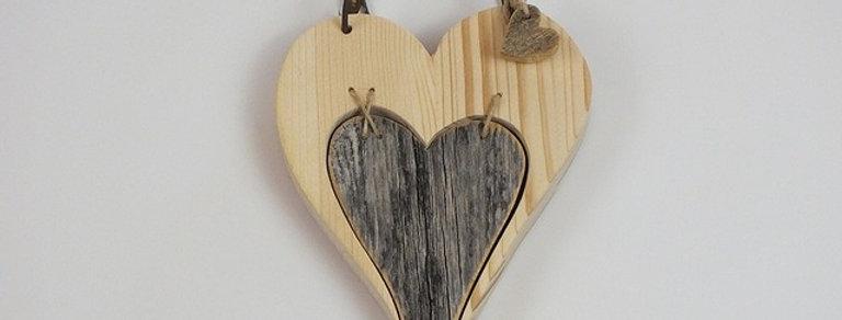Herz, Altholz und Fichte