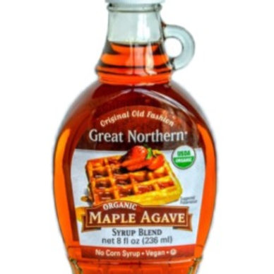 Great Northern Organic Maple Agave Syrup- by Foodsterr 236ml