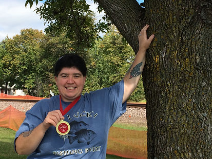 Taz Pergande - winner of Medallion Hunt