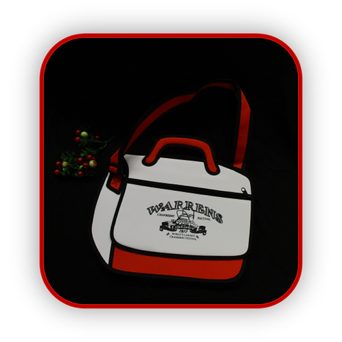 SKETCH MESSENGER BAG