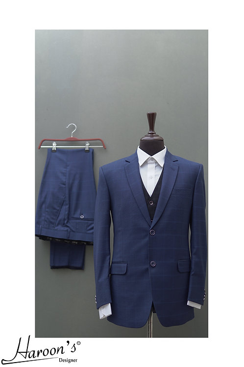 Blue 3pc Suit