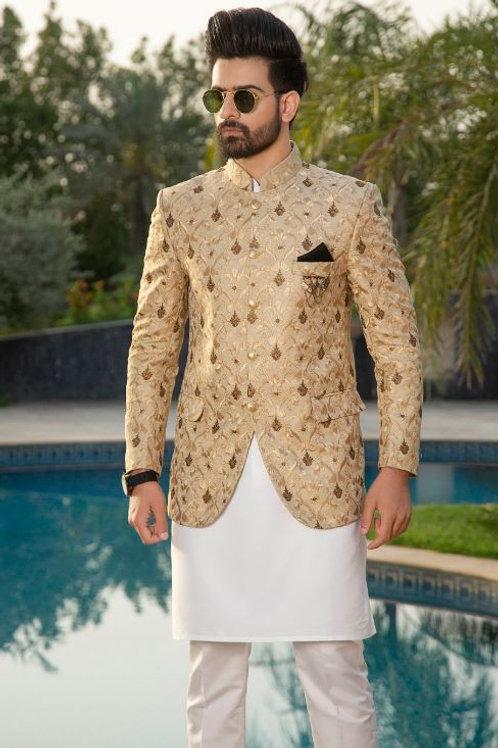 Regal Gold Prince Coat