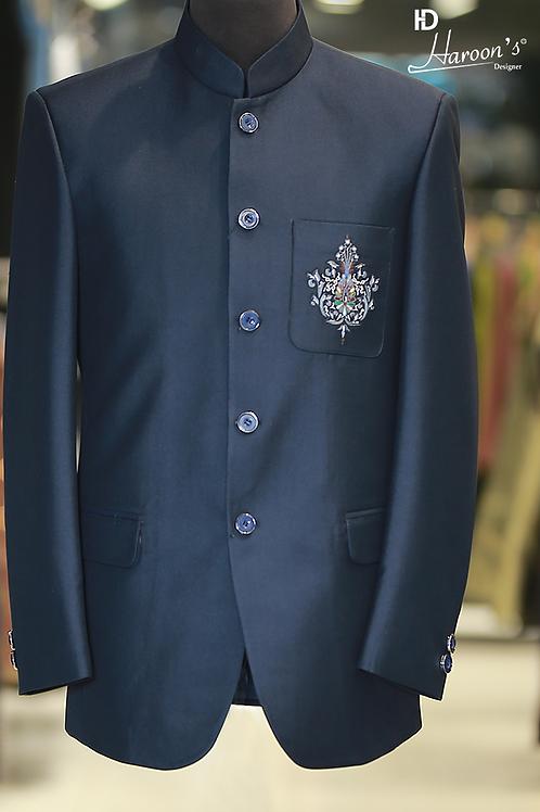 Royal Blue Prince Coat