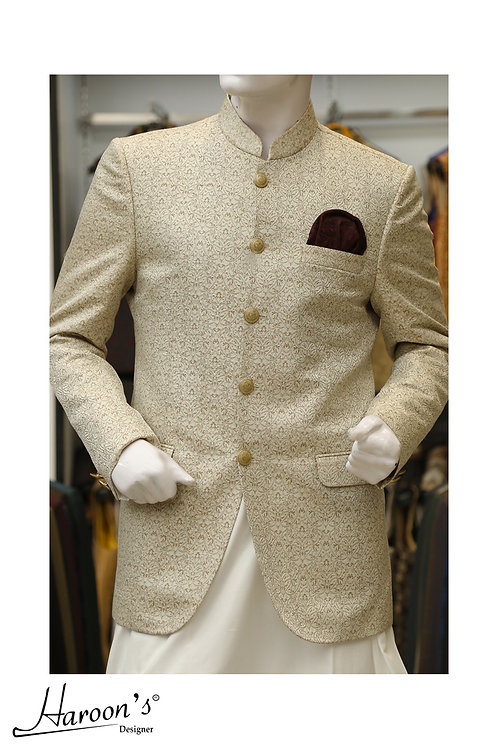 Regal Ivory Prince Coat