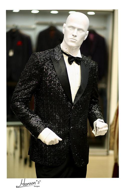 Stylish Tuxedo Fully Embellished