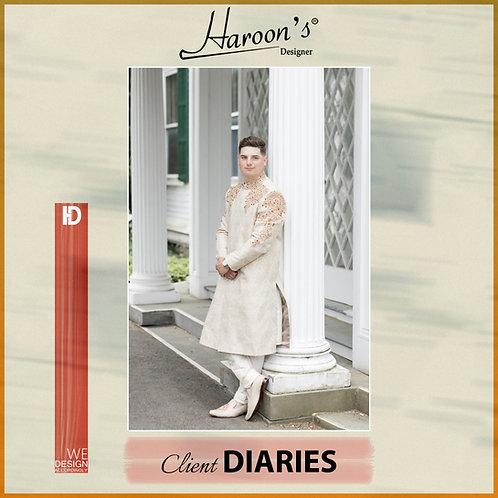 Happy Client at Haroon's Designer